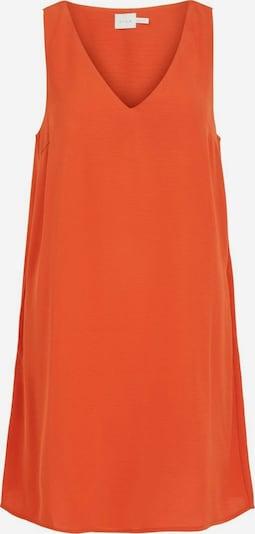 VILA Kleid in dunkelorange, Produktansicht