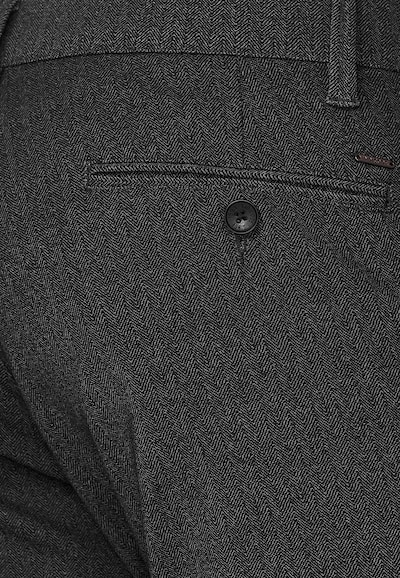 INDICODE JEANS Chino ' Rodekro ' in de kleur Donkergrijs, Productweergave