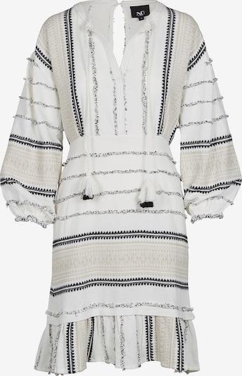 NÜ DENMARK Kleid 'Halina' in beige / navy / weiß, Produktansicht