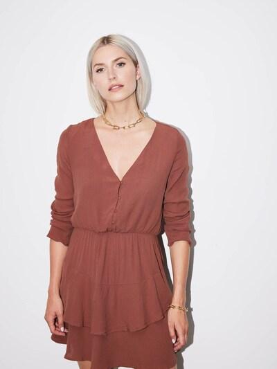 LeGer by Lena Gercke Kleid 'Mara' in braun, Modelansicht