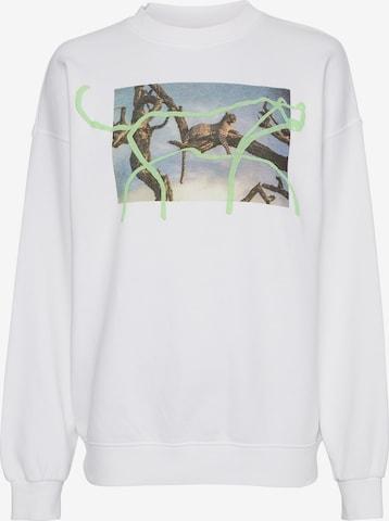 ZOE KARSSEN Sweatshirt in White