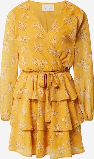 SISTERS POINT Kleid 'NAPPA' in braun / dunkelgelb / weiß, Produktansicht