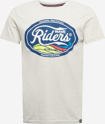 Petrol Industries T-Shirt in Grau