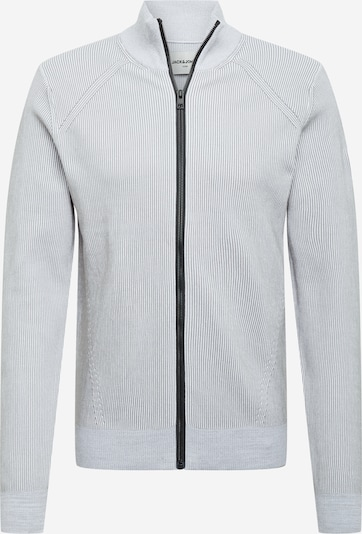 JACK & JONES Gebreid vest 'MASON' in de kleur Grijs, Productweergave
