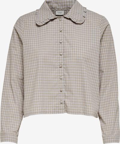 JACQUELINE de YONG Bluse 'KIARA' in grau / weiß, Produktansicht