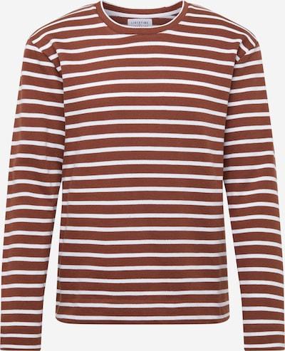 Libertine-Libertine Sweatshirt 'Forward' in rostbraun / weiß, Produktansicht