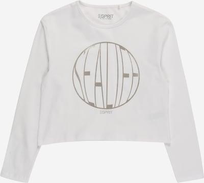ESPRIT KIDS Shirt in weiß, Produktansicht