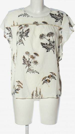 CULTURE Schlupf-Bluse in S in bronze / schwarz / wollweiß, Produktansicht