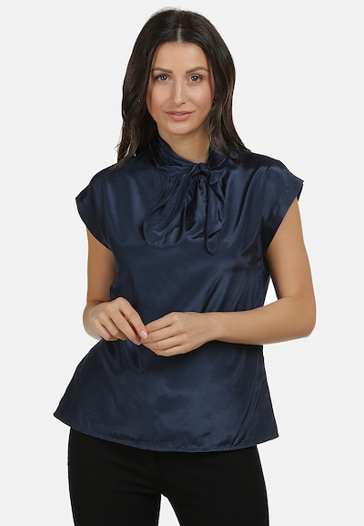usha BLACK LABEL Shirtbluse in blau, Modelansicht