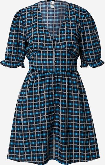 JDY Kleid 'MAGGIE' in himmelblau / hellblau / schwarz / weiß, Produktansicht