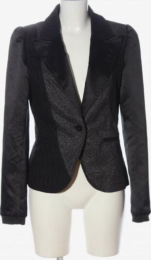 Dept. Kurz-Blazer in L in schwarz / silber, Produktansicht