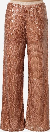 Pantaloni River Island di colore marrone / argento, Visualizzazione prodotti