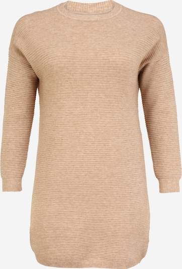ONLY Carmakoma Kleid 'Karia' in hellbraun, Produktansicht