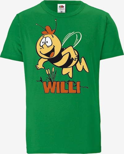 LOGOSHIRT T-Shirt 'Die Biene Maja – Willi' in grün, Produktansicht