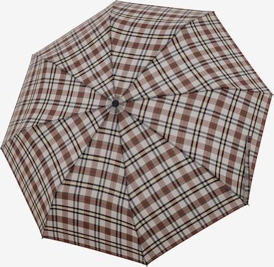 Doppler Parapluie 'Carbonsteel Magic' en beige / gris / noir, Vue avec produit