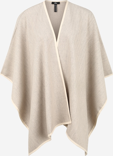 s.Oliver BLACK LABEL Cape in beige, Produktansicht
