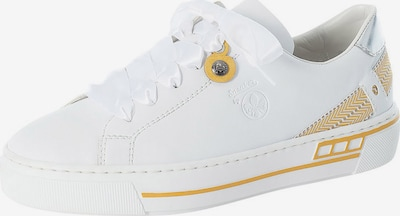 Sneaker low RIEKER pe galben / alb, Vizualizare produs