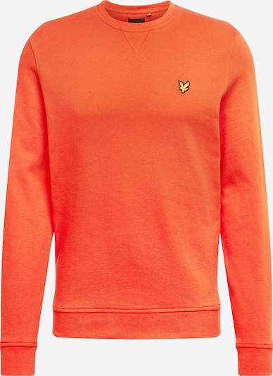Lyle & Scott Sweatshirt in orange, Produktansicht
