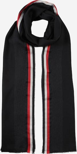 TOMMY HILFIGER Schal in navy / rot / schwarz / weiß, Produktansicht