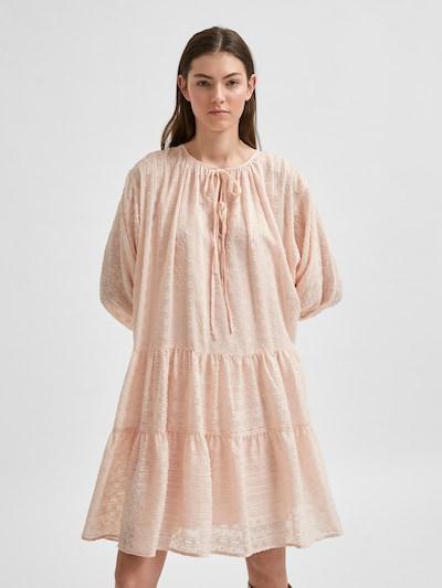 SELECTED FEMME Košilové šaty 'Muni-Amaya' - pastelově růžová, Model/ka