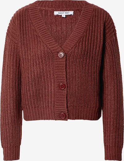 ABOUT YOU Cardigan  'Lotte' in rot, Produktansicht