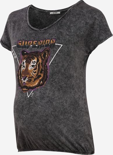 LOVE2WAIT T-Shirt 'Tiger' in anthrazit, Produktansicht