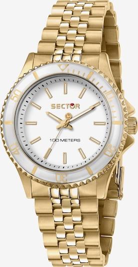 SECTOR Uhr in gold, Produktansicht