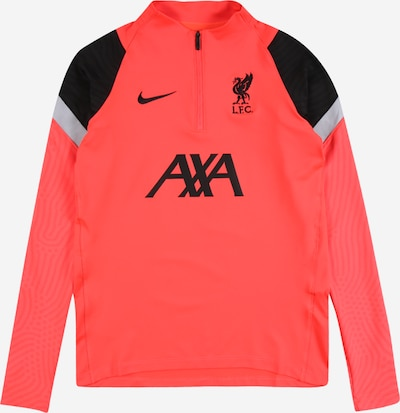 NIKE Sport-Shirt 'Liverpool FC Strike' in grau / neonrot / schwarz, Produktansicht