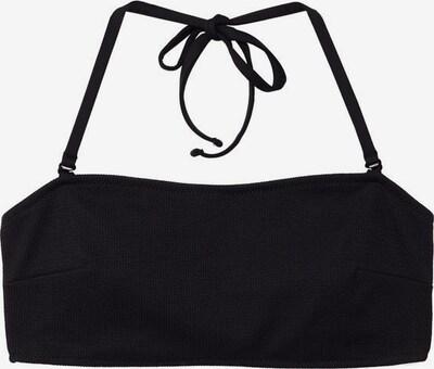 VIOLETA by Mango Bikini zgornji del 'ruga' | črna barva, Prikaz izdelka