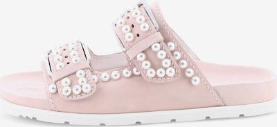 Kennel & Schmenger Pantolette 'VERSO' in rosa / weiß, Produktansicht