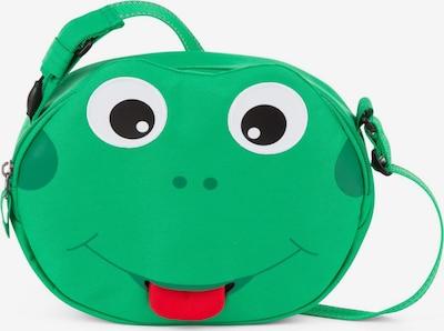 Affenzahn Tasche 'Mini Freunde' in grün / rot / schwarz / weiß, Produktansicht