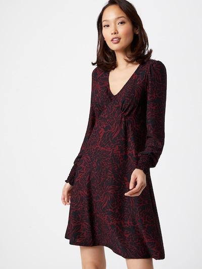 Dorothy Perkins Robe en bleu violet / rouge, Vue avec modèle