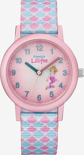 PRINZESSIN LILLIFEE Uhr in hellblau / pink / rosa, Produktansicht