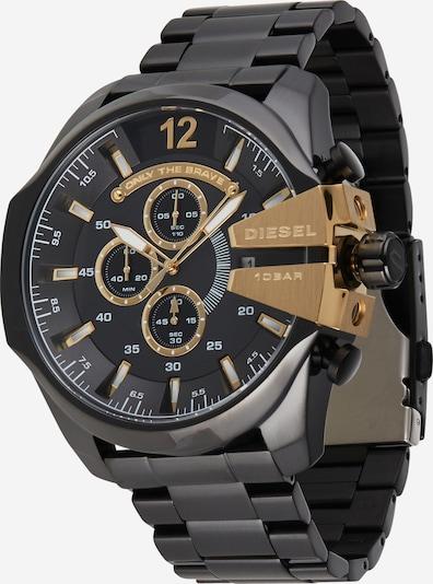 DIESEL Analoginen kello 'MEGA CHIEF, DZ4338' värissä kulta / musta, Tuotenäkymä