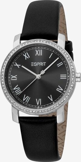 ESPRIT Quarzuhr und Armband in schwarz, Produktansicht