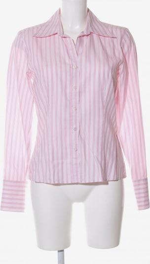 STUDIO Langarm-Bluse in S in pink / weiß, Produktansicht