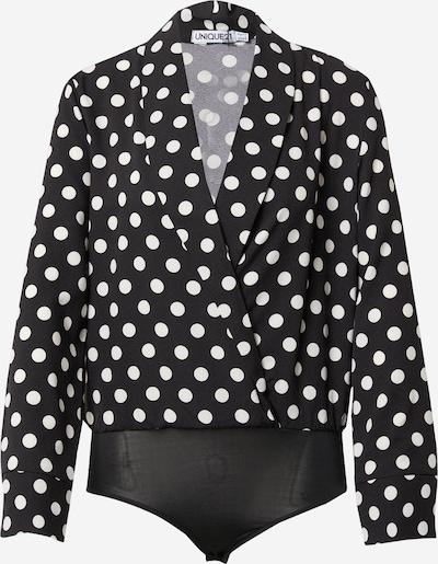 Unique21 Blouse body in de kleur Zwart / Wit, Productweergave
