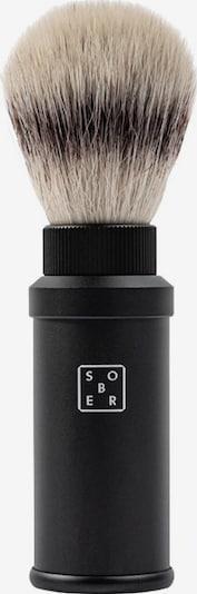 sober Rasierpinsel in schwarz, Produktansicht