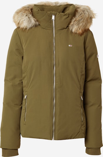 Tommy Jeans Winter jacket in khaki, Item view