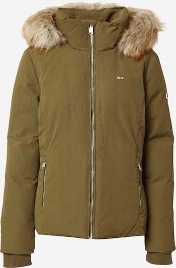 Tommy Jeans Veste d'hiver en kaki, Vue avec produit