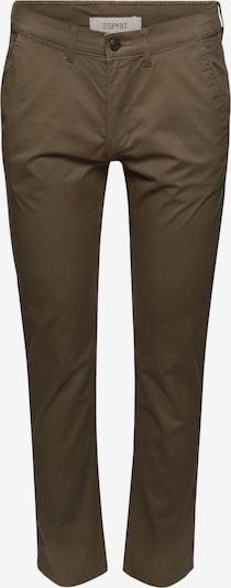 ESPRIT Pantalon chino en olive, Vue avec produit