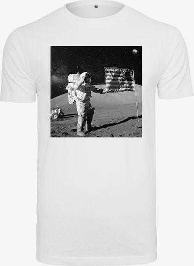 Mister Tee Shirt 'NASA' in grau / schwarz / weiß, Produktansicht