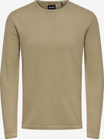 Pull-over 'Panter' Only & Sons en marron
