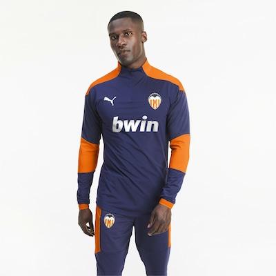 PUMA Trainingsshirt 'Valencia CF' in dunkelblau / orange: Frontalansicht