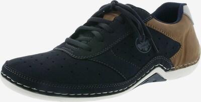 RIEKER Sportovní šněrovací boty - námořnická modř / hnědá, Produkt