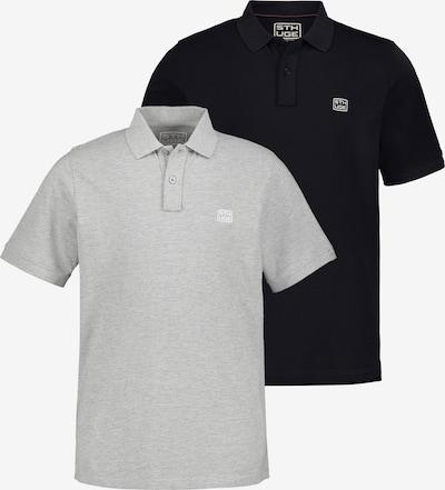 STHUGE Shirt in de kleur Marine / Grijs, Productweergave