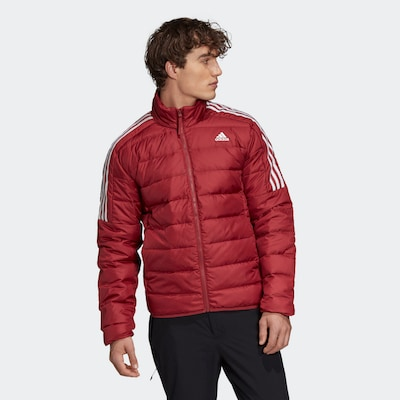 ADIDAS PERFORMANCE Daunenjacke in rot: Frontalansicht