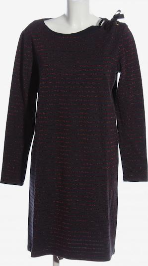 PETIT BATEAU Langarmkleid in L in blau / schwarz / silber, Produktansicht