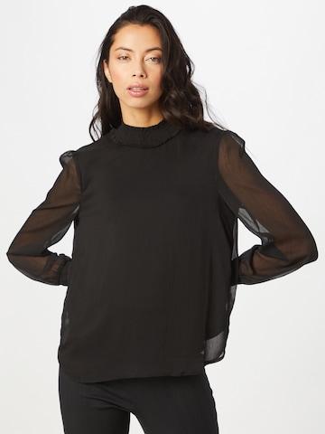 Camicia da donna 'Smilla' di VERO MODA in nero