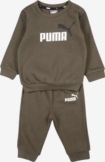 PUMA Odjeća za vježbanje u tamno zelena / crna / bijela, Pregled proizvoda